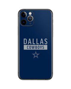 Dallas Cowboys Blue Performance Series iPhone 11 Pro Skin