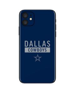 Dallas Cowboys Blue Performance Series iPhone 11 Skin