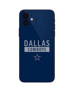 Dallas Cowboys Blue Performance Series iPhone 12 Skin