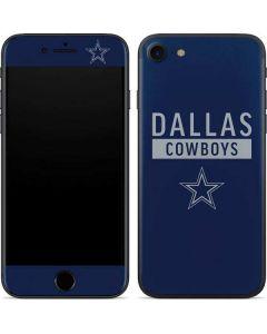 Dallas Cowboys Blue Performance Series iPhone SE Skin