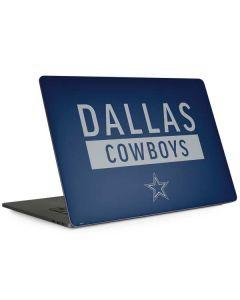Dallas Cowboys Blue Performance Series Apple MacBook Pro 15-inch Skin