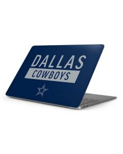 Dallas Cowboys Blue Performance Series Apple MacBook Pro 16-inch Skin