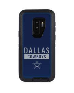 Dallas Cowboys Blue Performance Series Otterbox Defender Galaxy Skin
