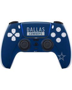 Dallas Cowboys Blue Performance Series PS5 Controller Skin