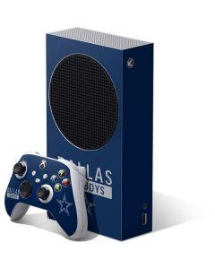 Dallas Cowboys Blue Performance Series Xbox Series S Bundle Skin