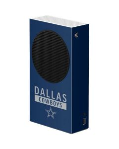 Dallas Cowboys Blue Performance Series Xbox Series S Console Skin