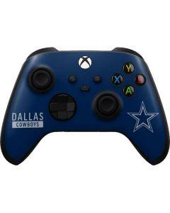 Dallas Cowboys Blue Performance Series Xbox Series X Controller Skin