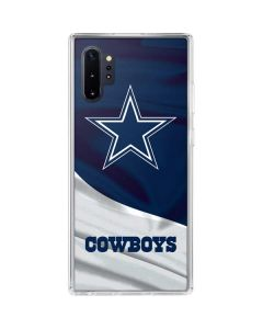 Dallas Cowboys Galaxy Note 10 Plus Clear Case