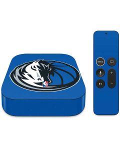 Dallas Mavericks Large Logo Apple TV Skin
