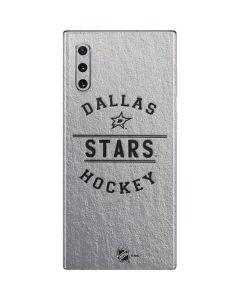 Dallas Stars Black Text Galaxy Note 10 Skin