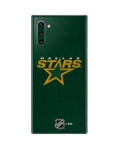 Dallas Stars Distressed Galaxy Note 10 Skin