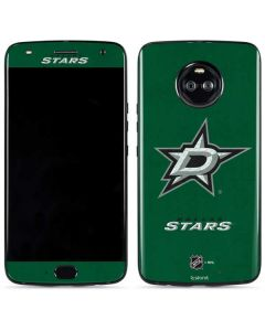 Dallas Stars Distressed Moto X4 Skin