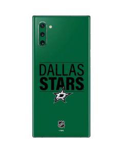 Dallas Stars Lineup Galaxy Note 10 Skin