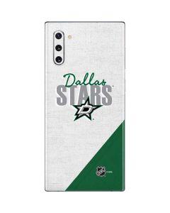 Dallas Stars Script Galaxy Note 10 Skin