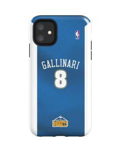 Danilo Gallinari Denver Nuggets iPhone 11 Impact Case