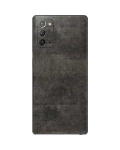 Dark Iron Grey Concrete Galaxy Note20 5G Skin