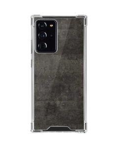 Dark Iron Grey Concrete Galaxy Note20 Ultra 5G Clear Case