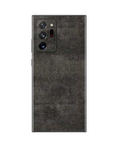 Dark Iron Grey Concrete Galaxy Note20 Ultra 5G Skin
