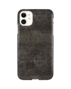Dark Iron Grey Concrete iPhone 11 Lite Case