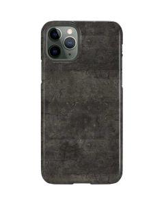 Dark Iron Grey Concrete iPhone 11 Pro Lite Case