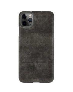 Dark Iron Grey Concrete iPhone 11 Pro Max Lite Case