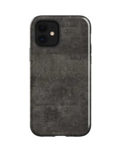 Dark Iron Grey Concrete iPhone 12 Case