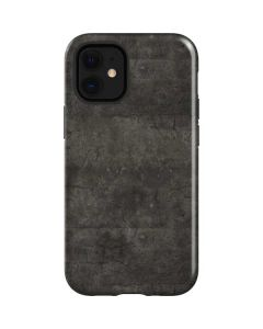 Dark Iron Grey Concrete iPhone 12 Mini Case