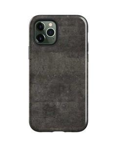 Dark Iron Grey Concrete iPhone 12 Pro Case