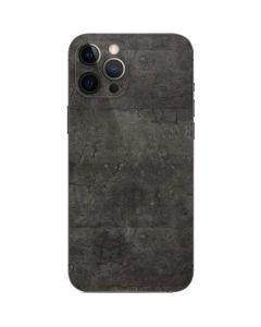 Dark Iron Grey Concrete iPhone 12 Pro Max Skin