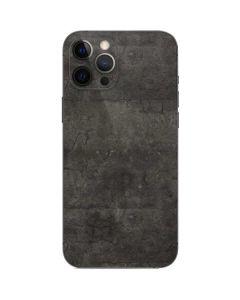 Dark Iron Grey Concrete iPhone 12 Pro Skin