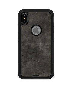 Dark Iron Grey Concrete Otterbox Commuter iPhone Skin