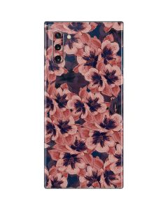 Dark Tapestry Floral Galaxy Note 10 Skin
