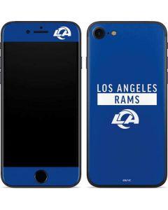Los Angeles Rams Blue Performance Series iPhone 7 Skin