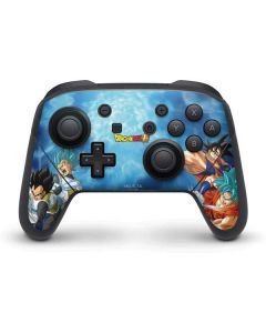 Goku Vegeta Super Ball Nintendo Switch Pro Controller Skin