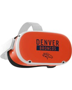 Denver Broncos Orange Performance Series Oculus Quest 2 Skin