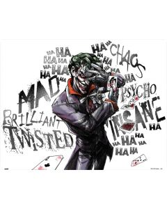 Brilliantly Twisted - The Joker Wii (Includes 1 Controller) Skin