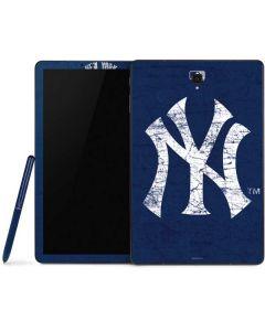 New York Yankees - Solid Distressed Samsung Galaxy Tab Skin
