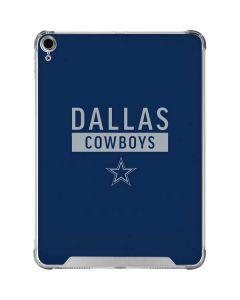 Dallas Cowboys Blue Performance Series iPad Air 10.9in (2020) Clear Case