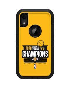 2020 NBA Champions Lakers Otterbox Defender iPhone Skin