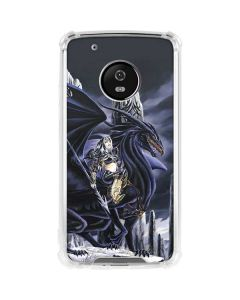 Dead of Winter Dragon and Warriors Moto G5 Plus Clear Case