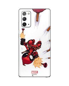 Deadpool Baby Fire Galaxy Note20 5G Skin