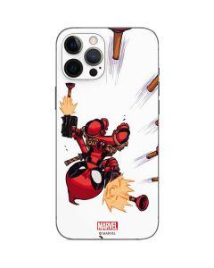 Deadpool Baby Fire iPhone 12 Pro Skin