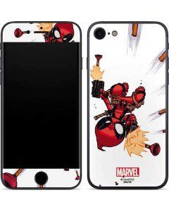 Deadpool Baby Fire iPhone SE Skin