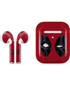 Deadpool Eyes Apple AirPods 2 Skin