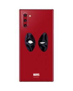 Deadpool Eyes Galaxy Note 10 Skin