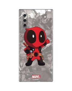 Deadpool Hello Galaxy Note 10 Skin