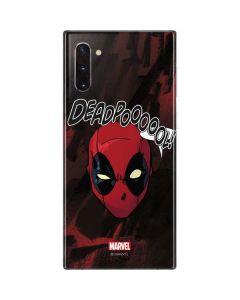 Deadpool Howl Galaxy Note 10 Skin
