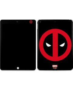 Deadpool Logo Black Apple iPad Skin