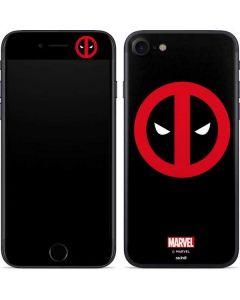 Deadpool Logo Black iPhone SE Skin