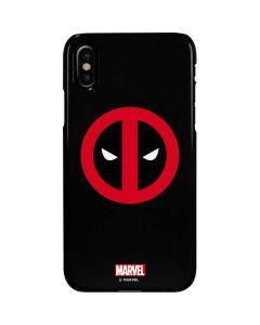 Deadpool Logo Black iPhone XS Max Lite Case